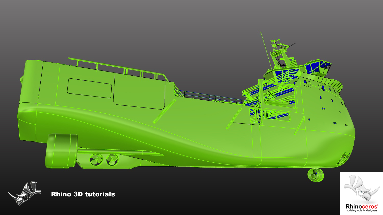 Week 2 Work In Progress by Rhino 3D Tutorials – Alexandre Galin